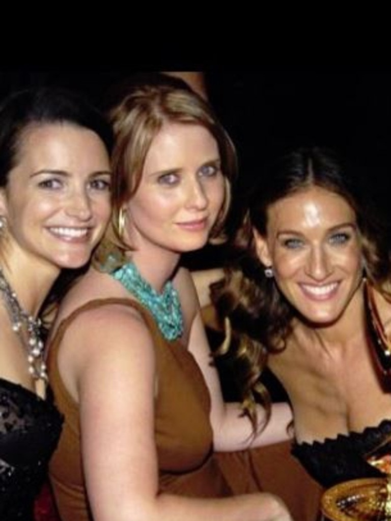 Kristin Davis made headlines for posting a throwback with her two co-stars without Cattrall.