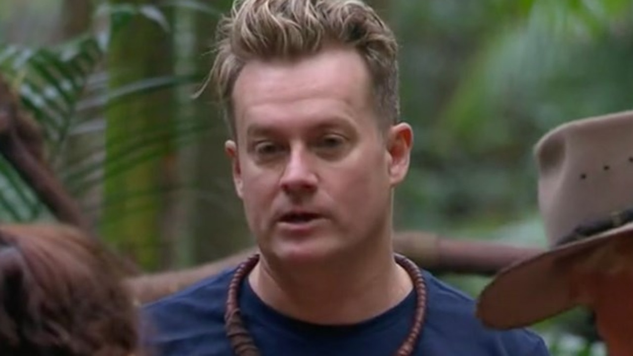 Grant Denyer said he 'instantly regretted' joining I'm A Celeb. Picture: Channel 10