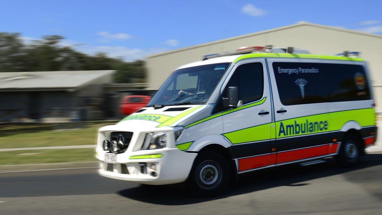 Emergency services transported a man to hospital after rolling his ATV in the Sunshine Coast hinterland.
