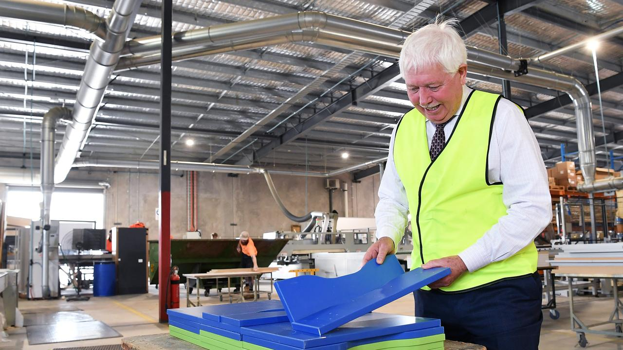 BFX Furniture owner Denis Moore employs over 180 Coast locals and he is committed to continue the rapid growth at his Yandina location. Picture: Patrick Woods.