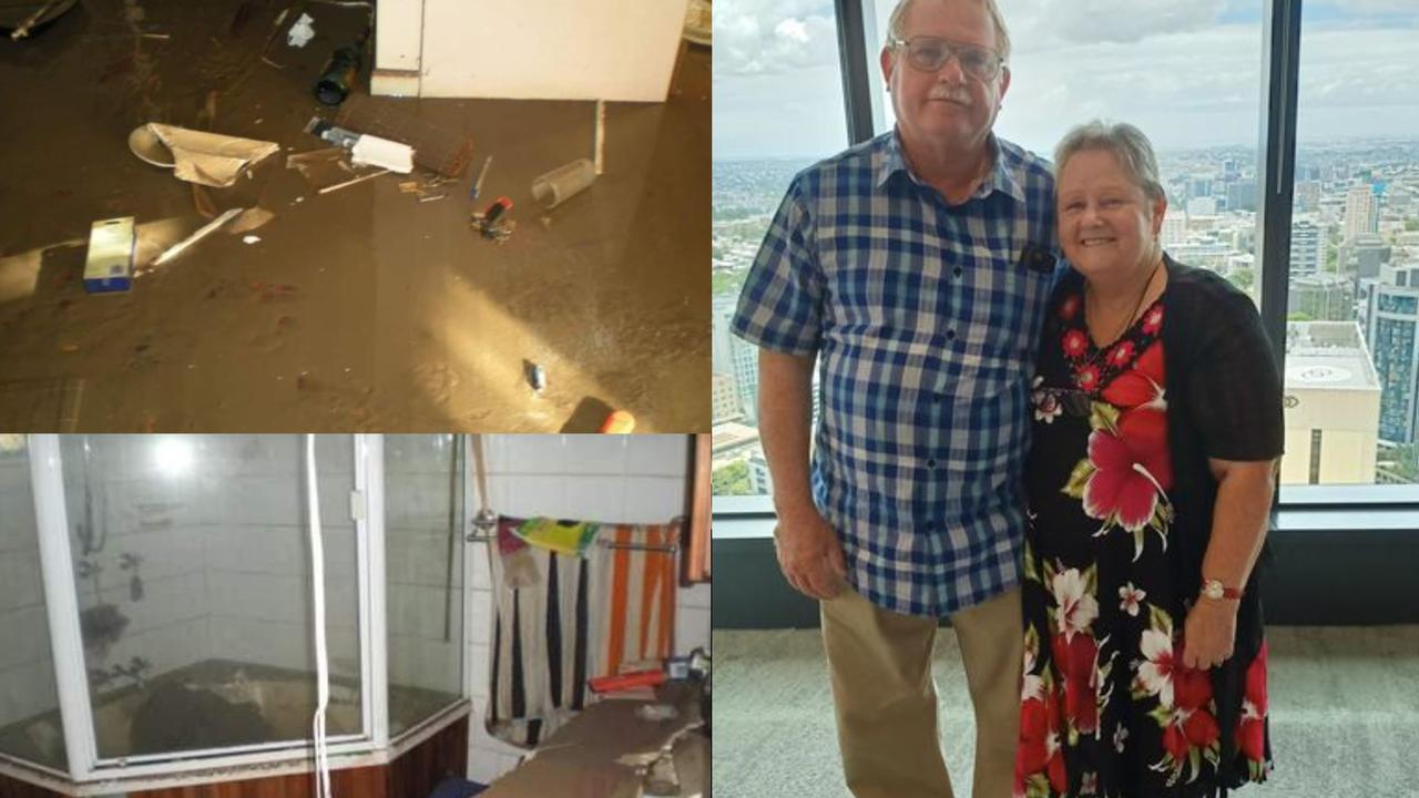Pat Taylor and her partner have continued living in the house they were in when Ipswich flooded in 2011.