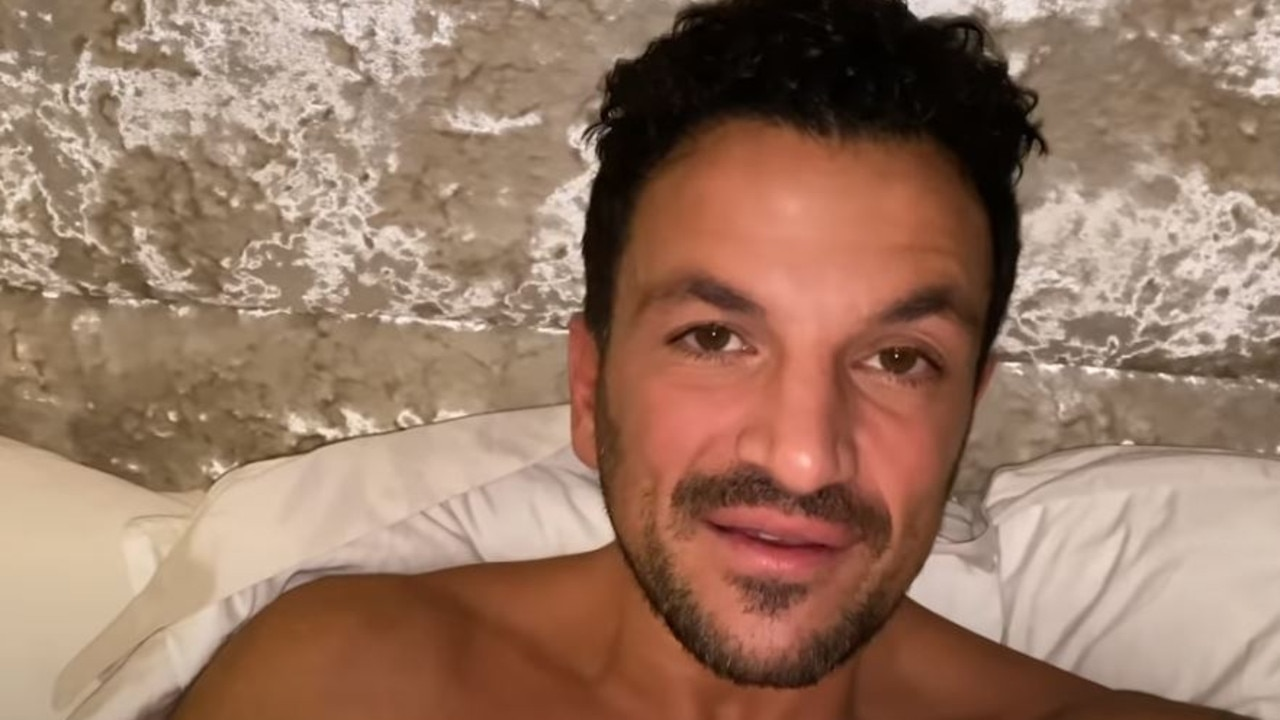 Peter Andre is battling COVID-19.