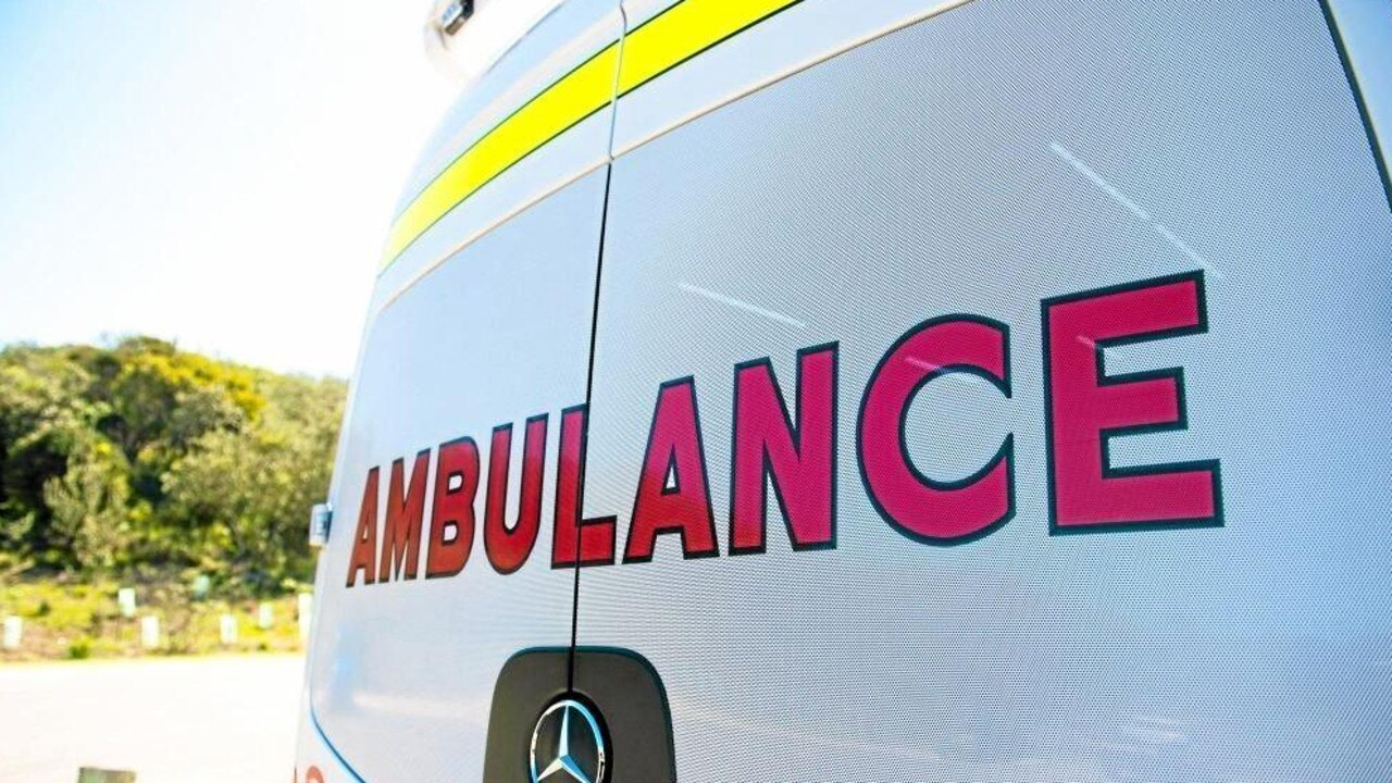 Two people were taken to Rockhampton Hospital after a crash in North Rockhampton on Tuesday afternoon.
