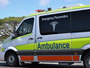Car vs pole: Serious Dalby crash brings down powerlines