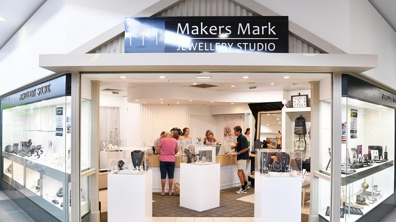 The Makers Mark Jewellery in Noosaville is winning new fans of pink diamonds. Picture: Patrick Woods.