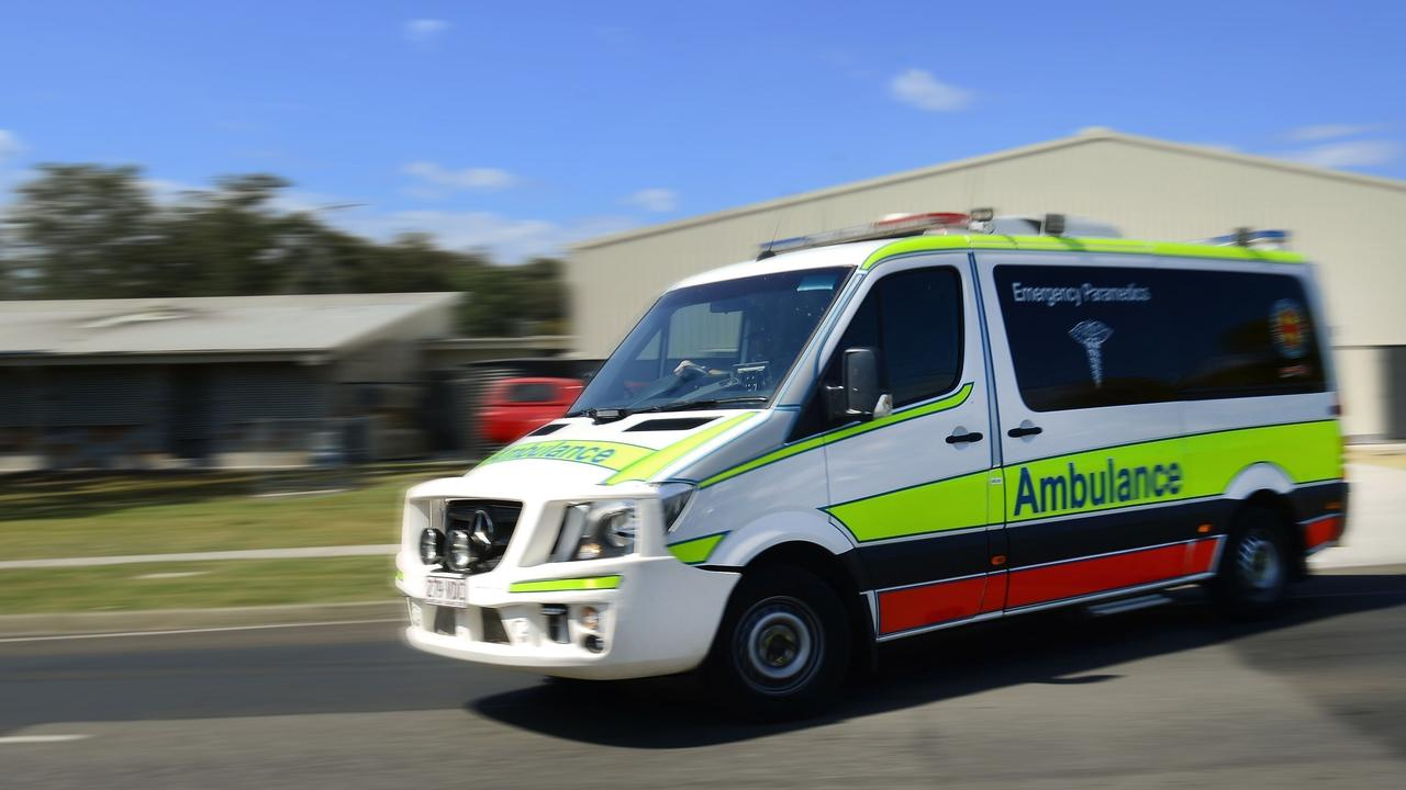 Paramedics treated three people in Emerald. Photo: File