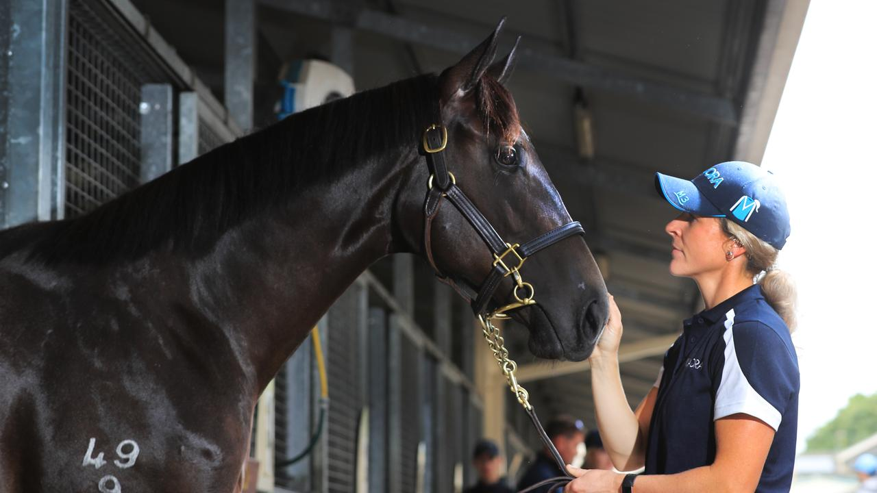 Magic Millions Sales Gold Coast, Jess Halsted from the Kia Ora Stables Photo Scott Powick Newscorp