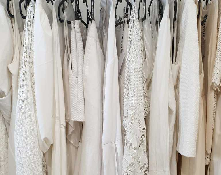 Everything at Via is colour co-ordinated for ease of browsing. Picture: Jacinta Emms