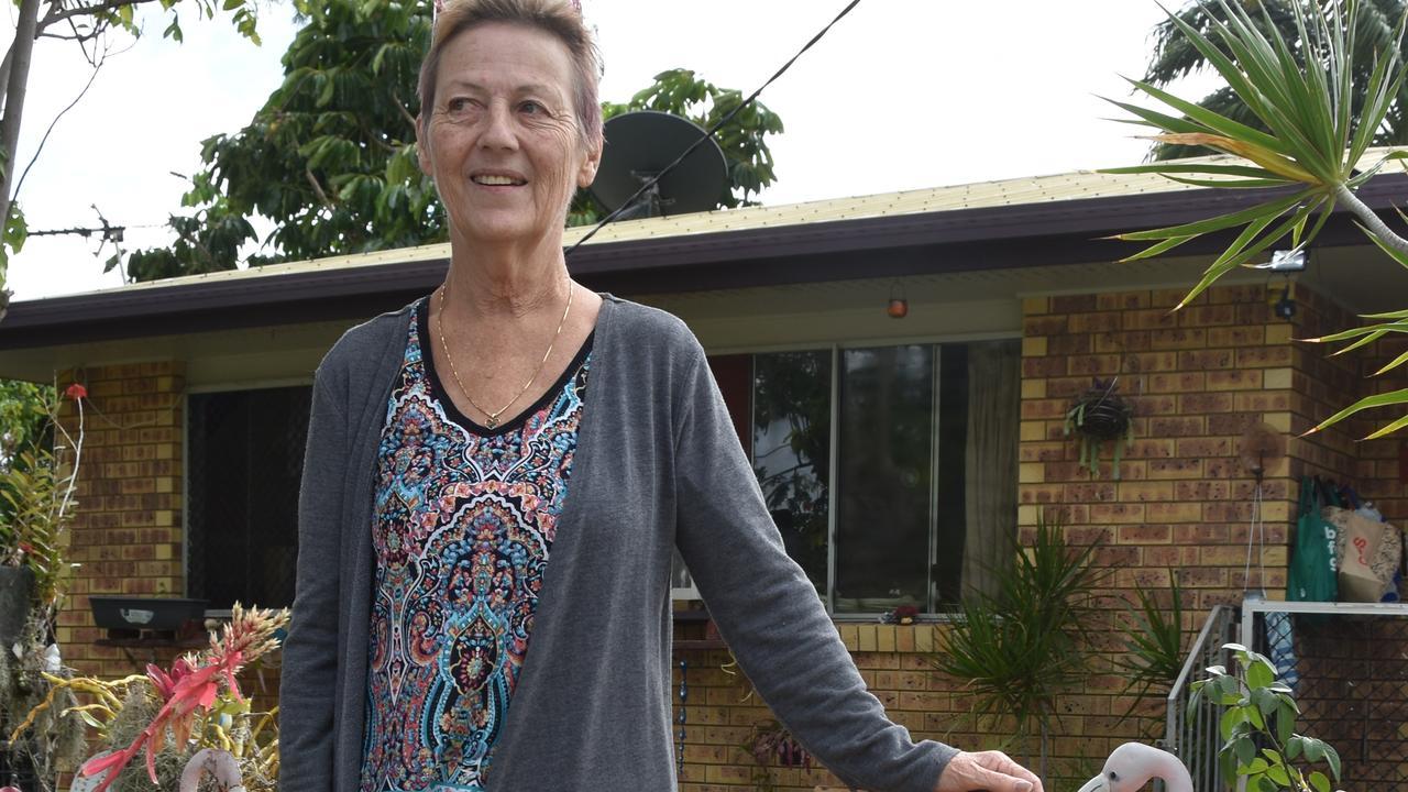 A neighbourhood dispute landed Debbie Fletcher in court.