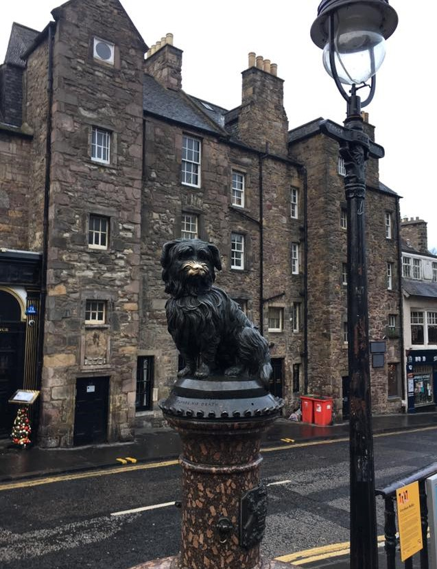 The statue of Greyfriars Bobby reminds locals and tourists alike of the loyalty and devotion of man's best friend.