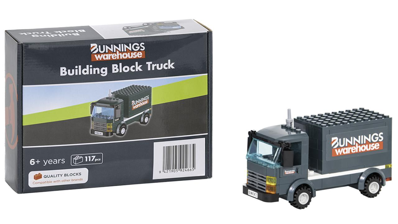 However the other four collectables are being kept 'top secret', with Bunnings stating it will release one a month, while stocks last. Picture: Supplied