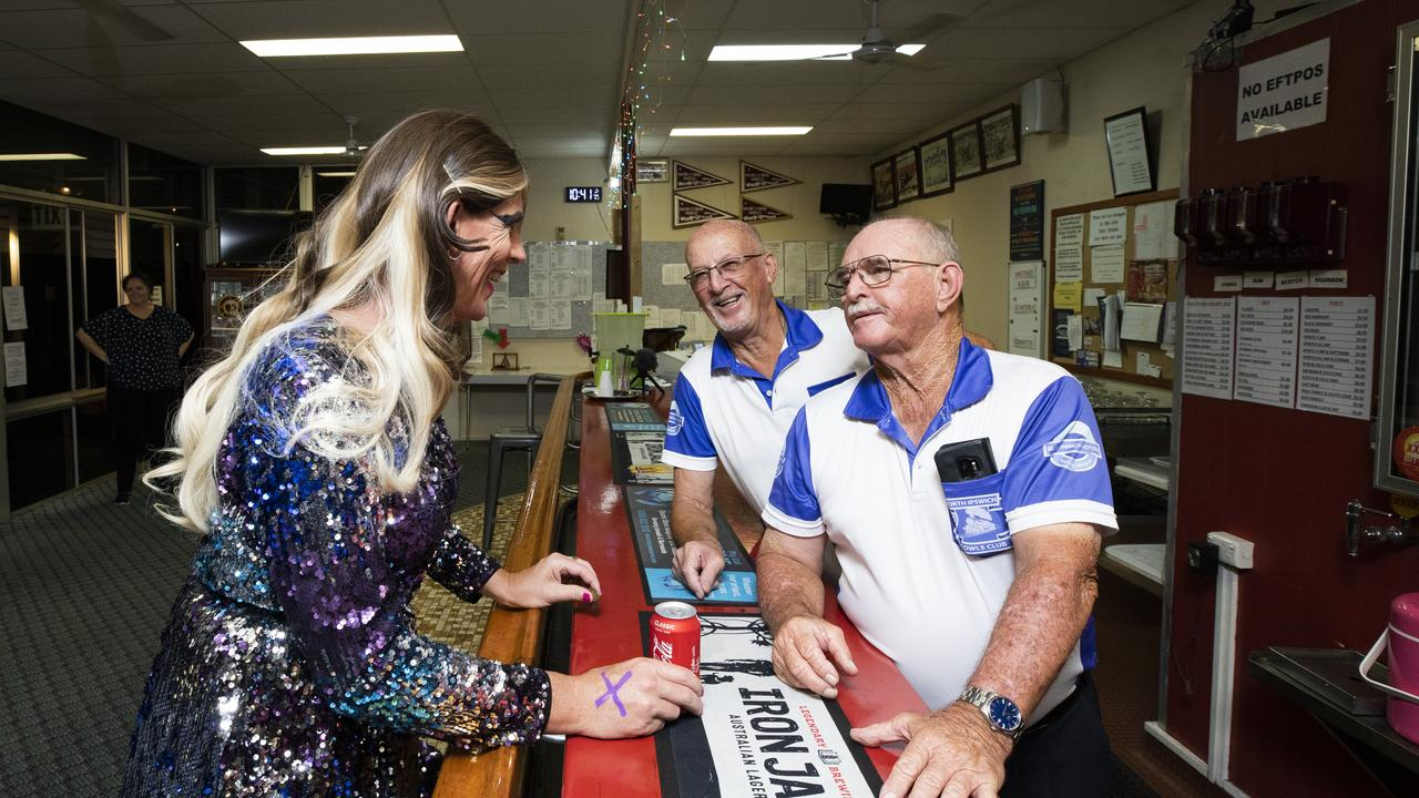 TABOO drag show at North Ipswich Bowls Club for 'Bowled Over', Saturday, February 15, 2019 - Picture: RDW Photography