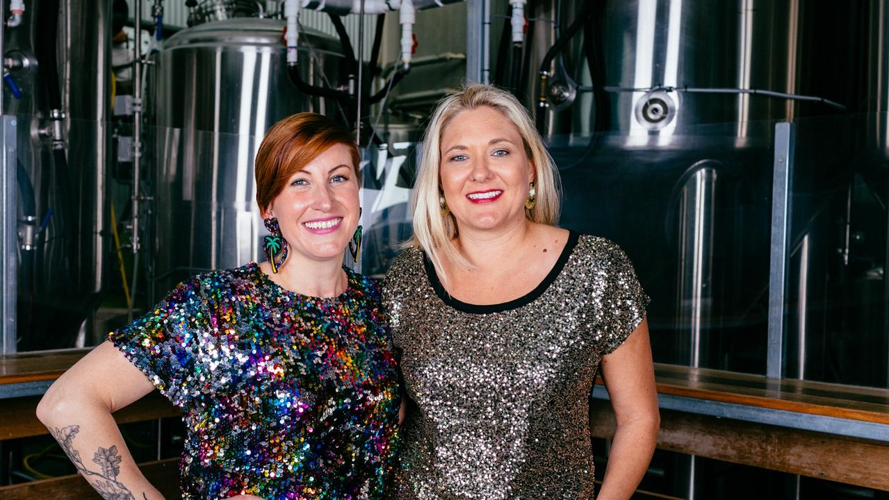 Danielle Allen and Jayne Lewis, founders of Two Birds Brewery
