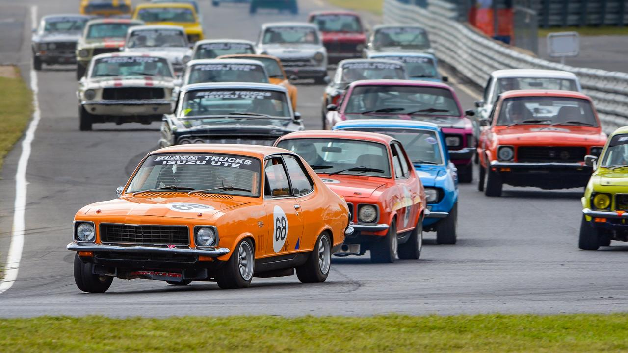 ON TRACK: Craig Allan raced in his Torana GTR XU-1 in group Nc at Morgan Park Raceway in 2019. Picture: Ian Welsh // Shifting Focus