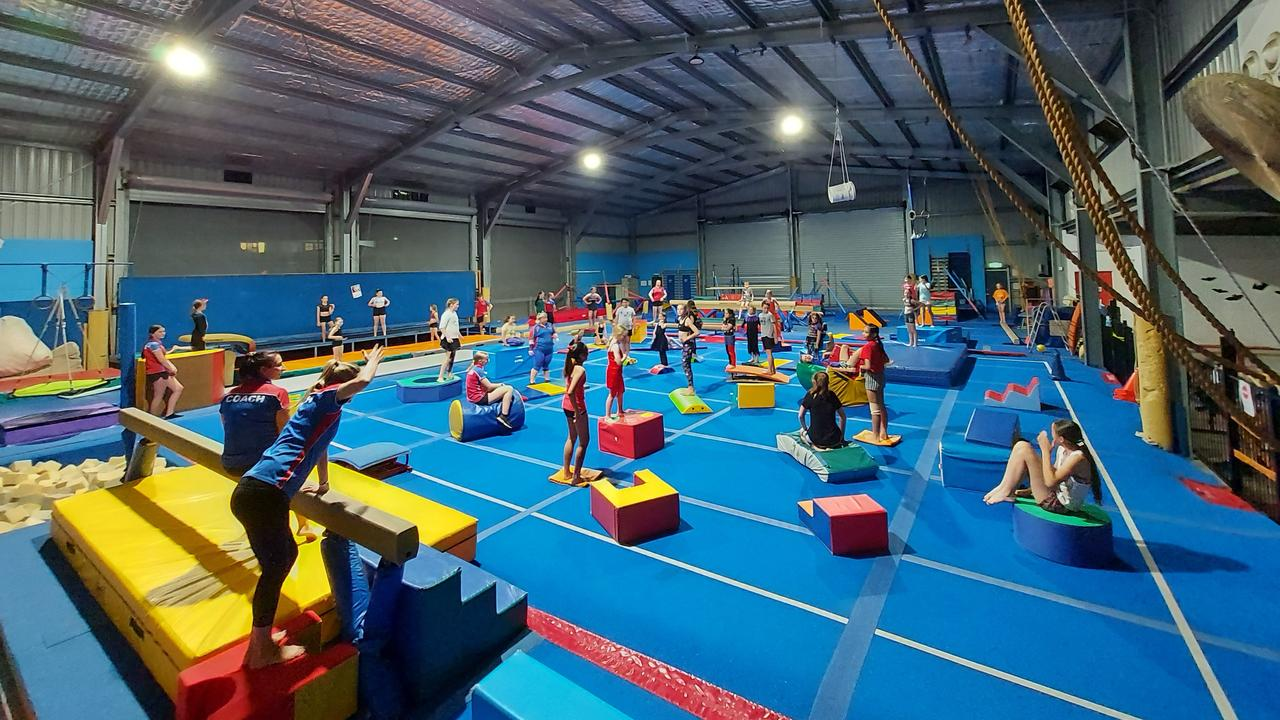 Gymnastics Moranbah.