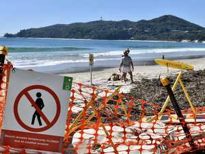Beach hazards more expensive than fixing roads