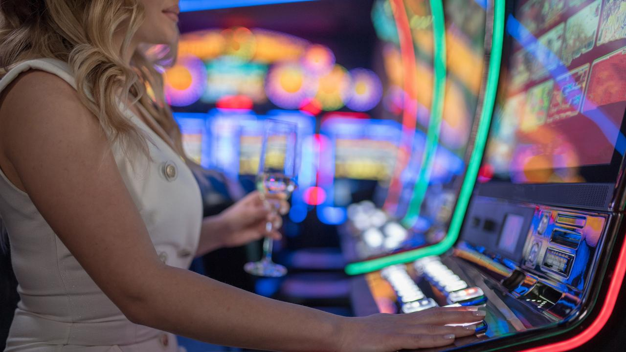 A 52 year old woman pleaded guilty to stealing $277 from a man playing pokies at a popular Mackay pub.