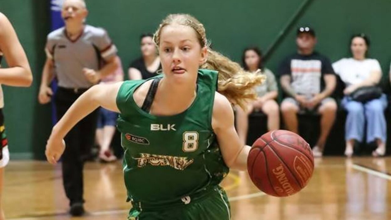 Ipswich Force basketballer Catherine MacGregor. The Force will have three teams competing in the Basketball Queensland Under-18 State Championships this week.