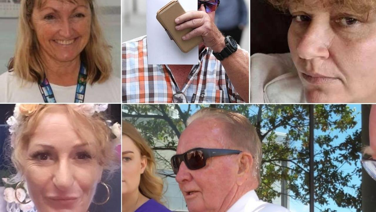 Coast grandparents Kerri-Anne McInnes, Alexander Cohen, Sandra Gillen, Rebecca Palmer and Thomas Jones fell foul of the law.