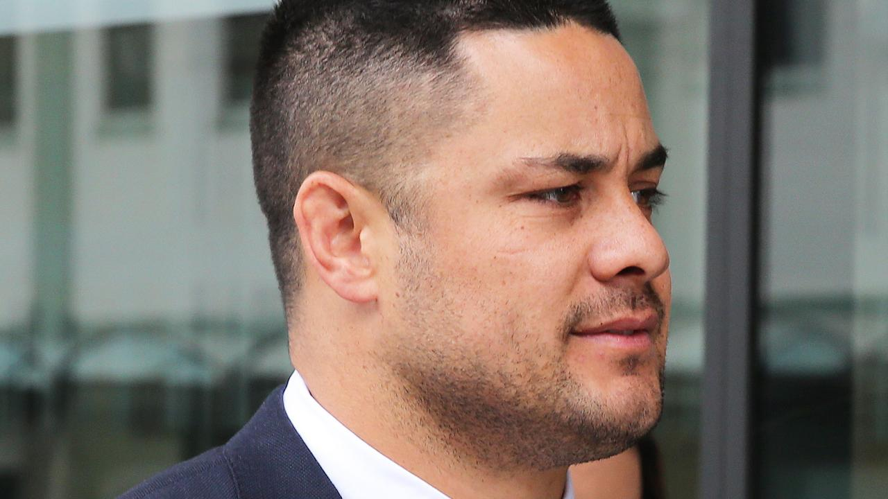 Former rugby league player Jarryd Hayne has been on trial over allegations of sexual assault. Picture: Peter Lorimer