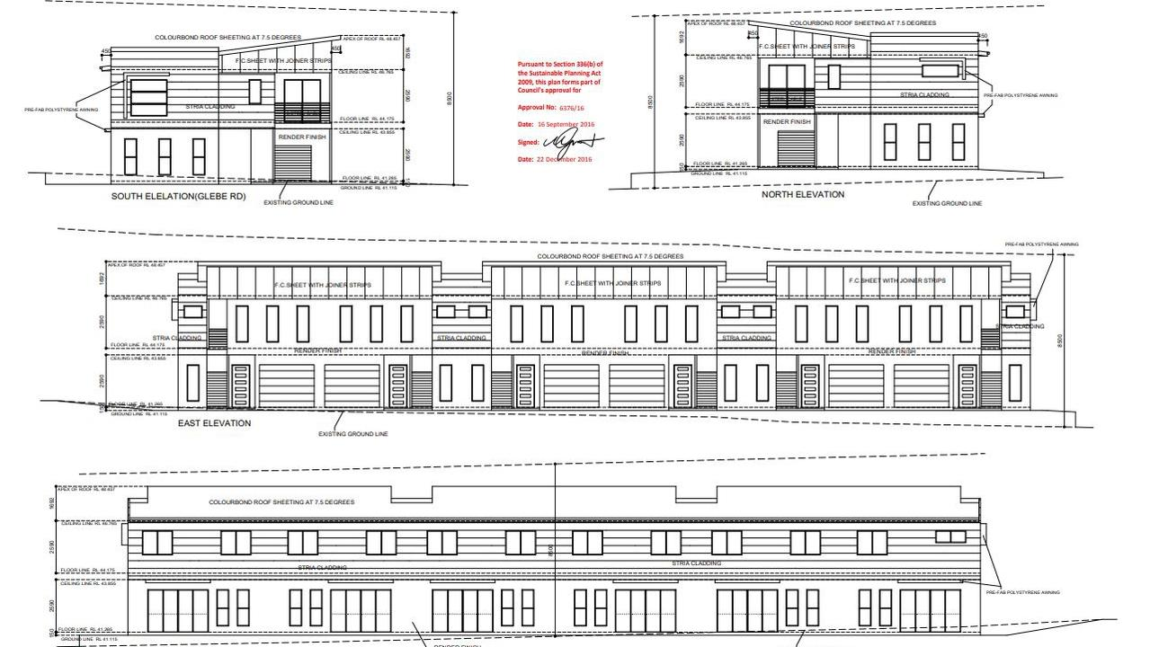 Ipswich City Council granted approval for Euphoria Projects Pty Ltd to build six units at 116 Glebe Rd in Booval was approved in December 2016. The company wants to extend the approval period.