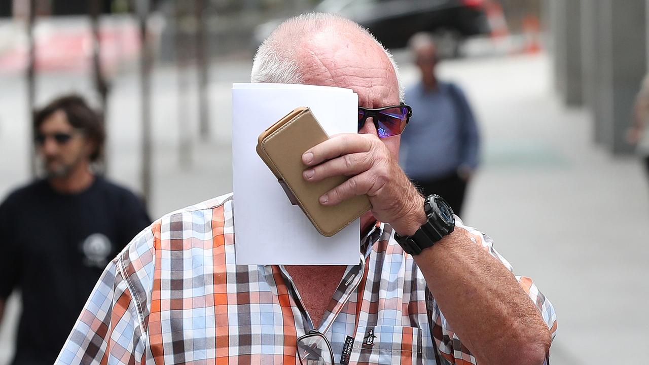 Alexander James Cohen leaving Brisbane Supreme and District Court. Pics Tara Croser.