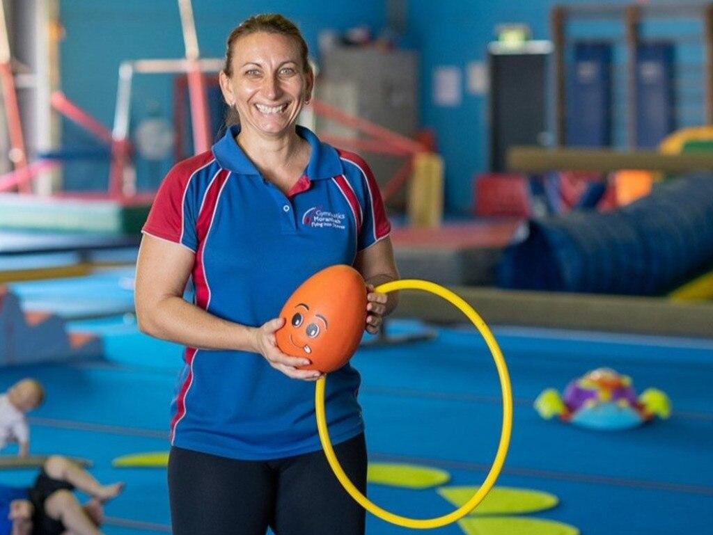 Gymnastics Moranbah Coach Simone Myles.