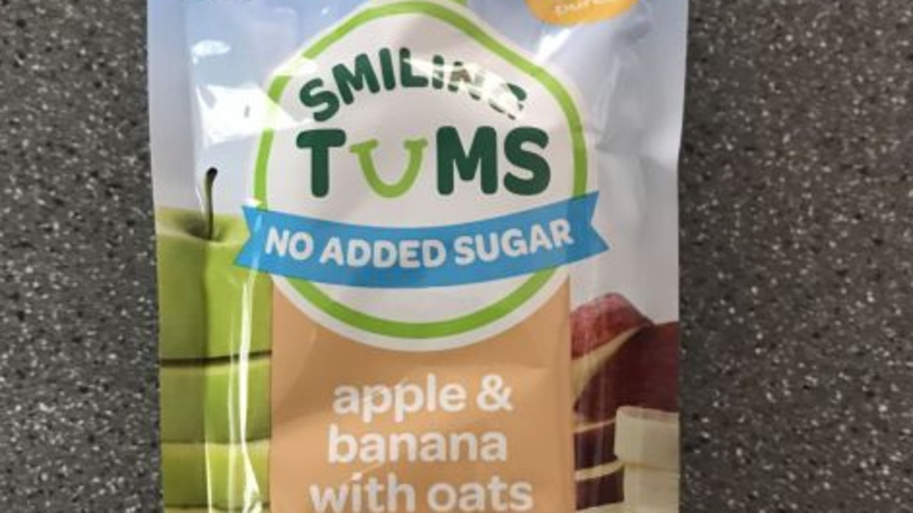 The baby food sold at Woolworths stores. Picture: supplied