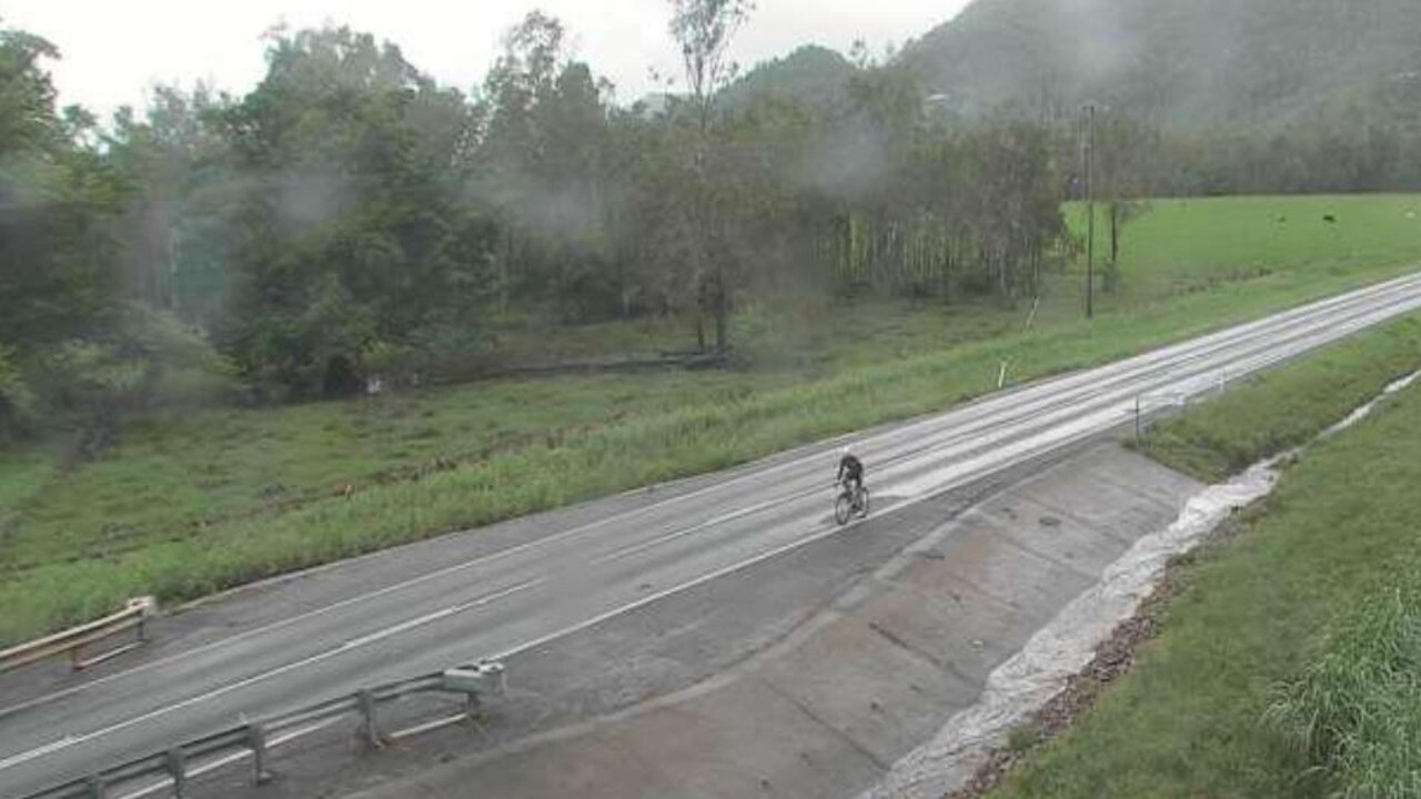 Water has subsided at Crofton Creek Bridge as at 7.30am Wednesday. Picture: Whitsunday Regional Council