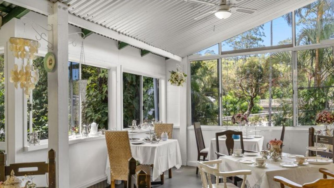The Tintenbar Teahouse offers a delightful dining experience.