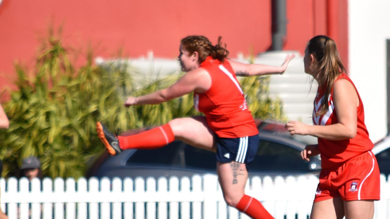 FOOTY FEVER: The Lismore Swans are recruiting women for their 2021 team and want to hear from any females keen on having a kick. Photo: Adrian Etherson