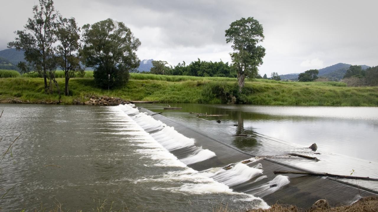 The Bray Park Weir.