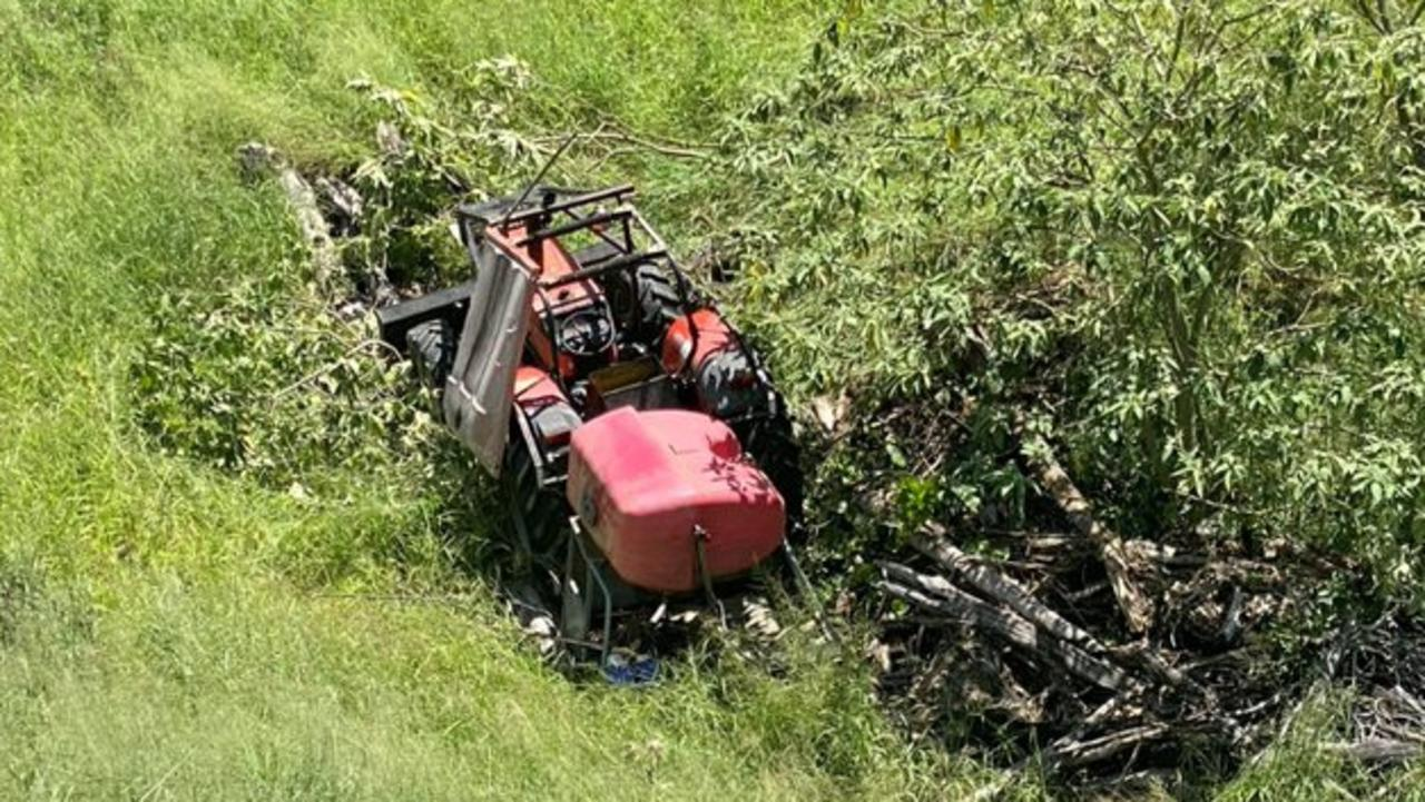 LifeFlight helicopter called to tractor crash at Glen Echo