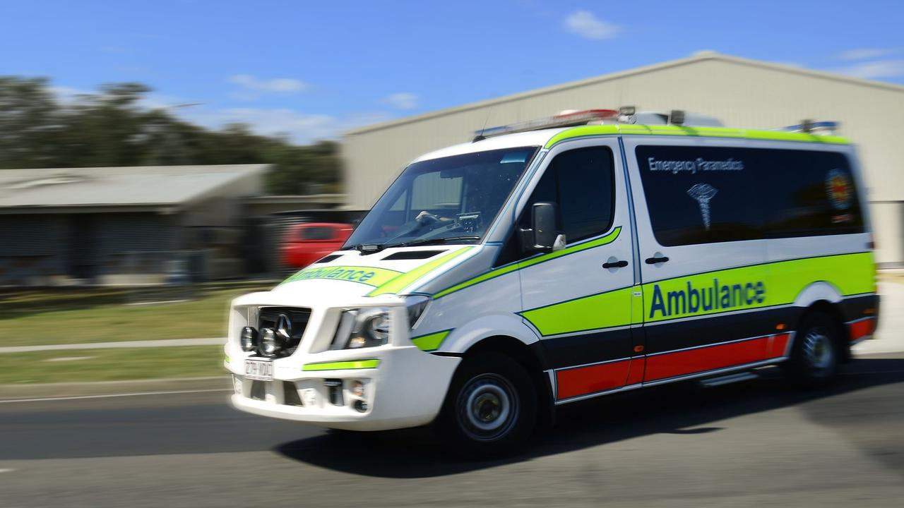 A cyclist has been taken to Mackay Base Hospital in a stable condition after a crash in East Mackay.