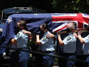 Final honour for fallen police officer at funeral