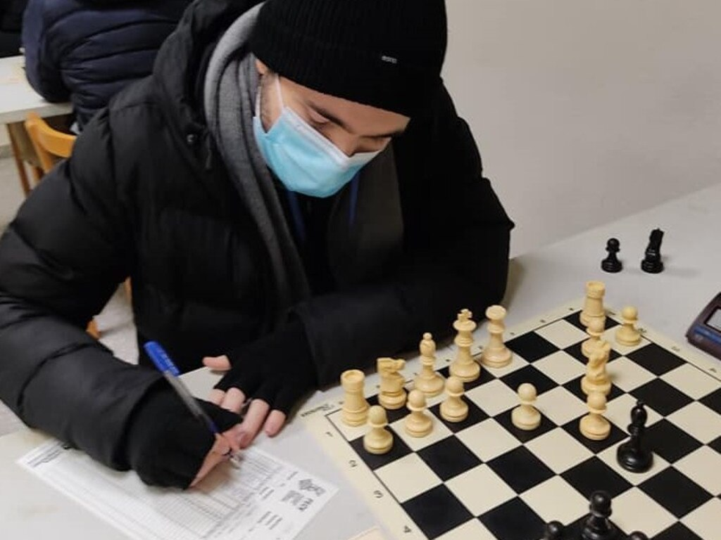 The Cathedral College graduate Justin Turner finished equal second in a chess tournament in Valencia, Spain. Photo: Contributed