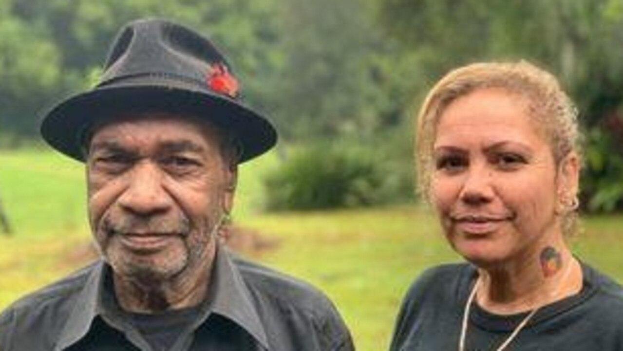 Widjabul Wia-bal traditional owner John Roberts and Cindy Roberts.
