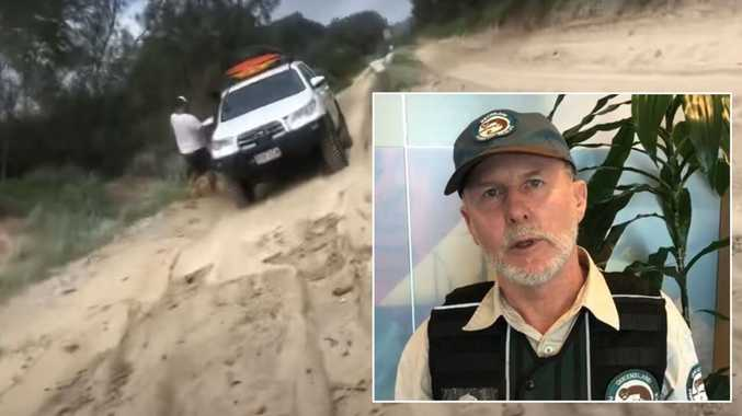 Viral video of 4WD on sand dunes under investigation