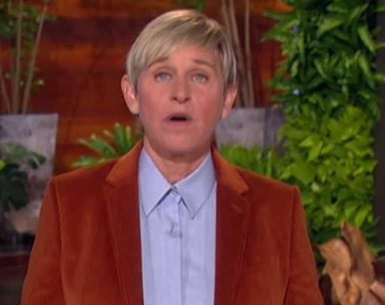 Ellen DeGeneres has returned to TV following her coronavirus diagnosis.