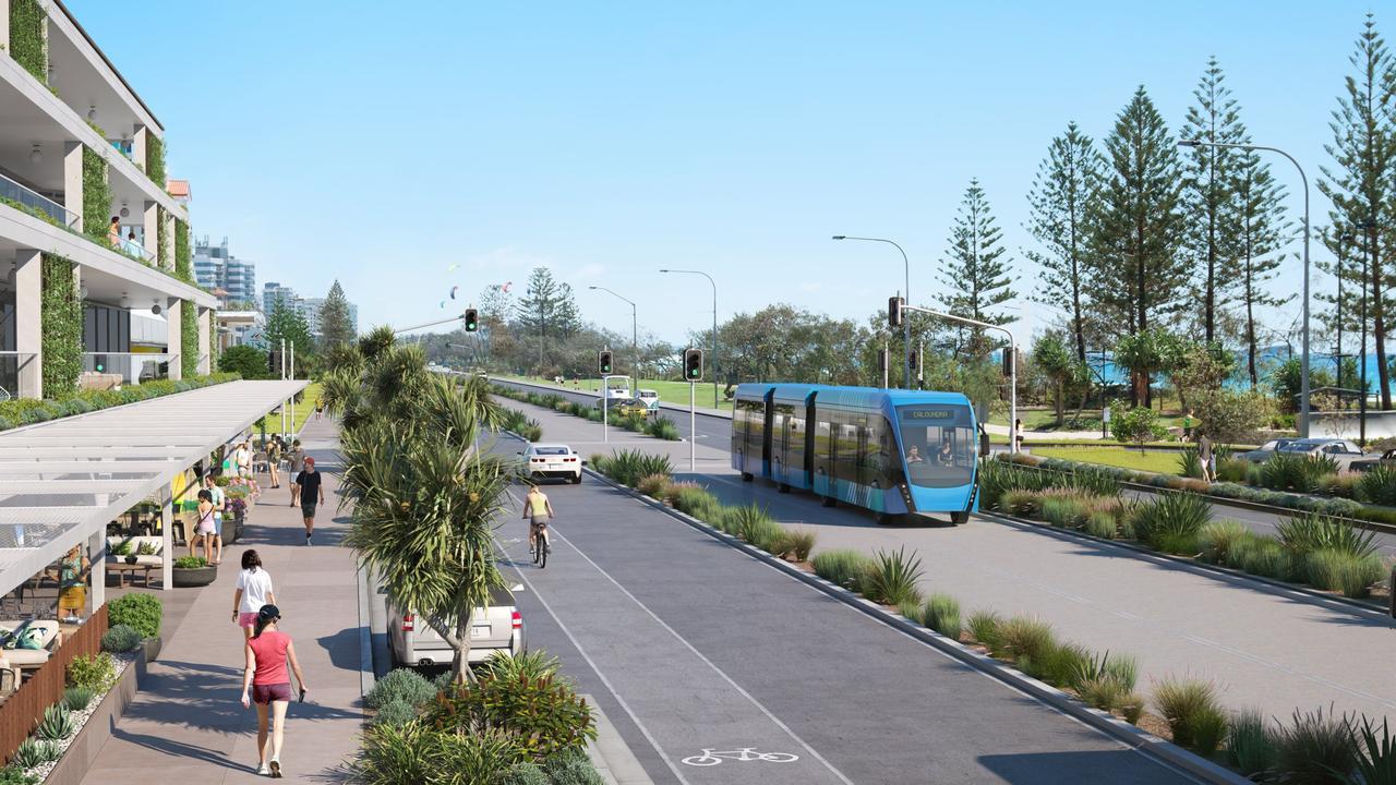 Sunshine Coast Council's concept designs of transport options for the Sunshine Coast Mass Transit Plan.