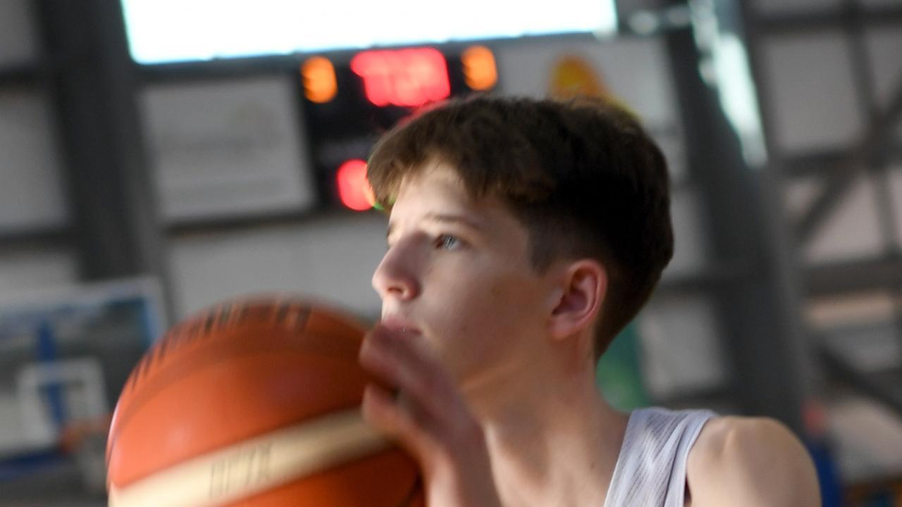 BASKETBALL STATE TRIALS: Ben Tweedy