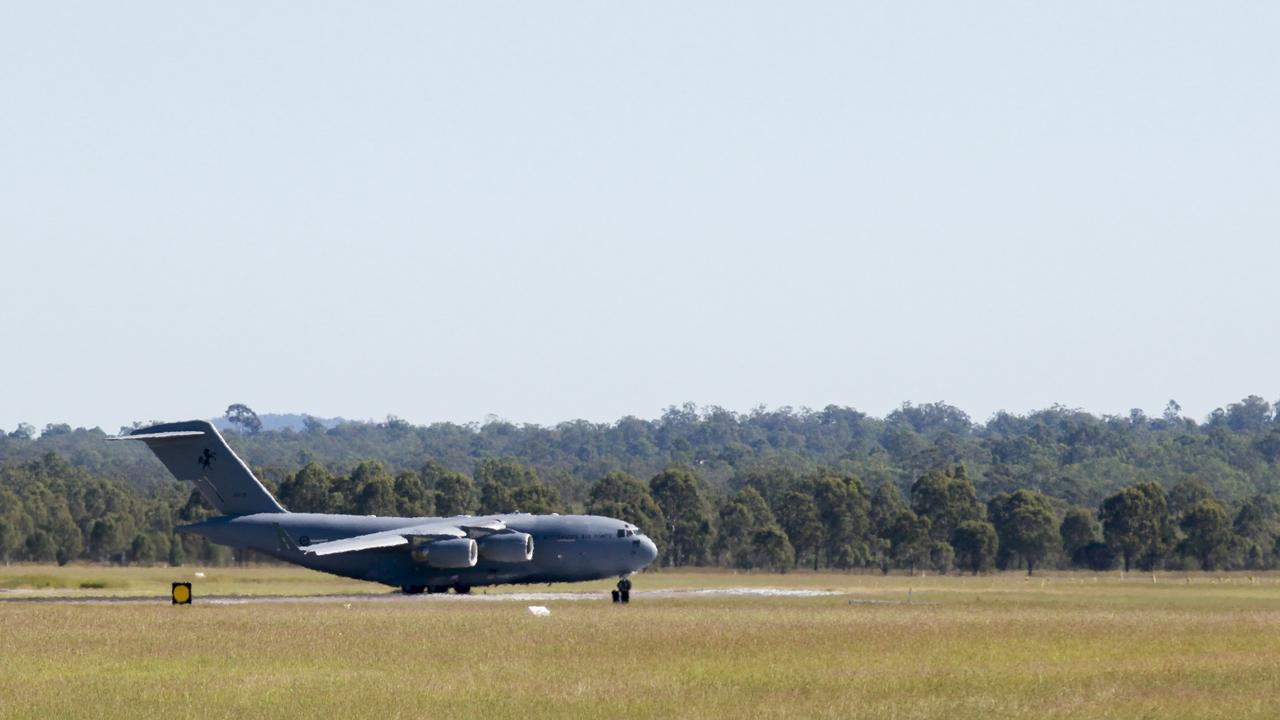 RAAF Amberley is located less than 10 minutes from the site.
