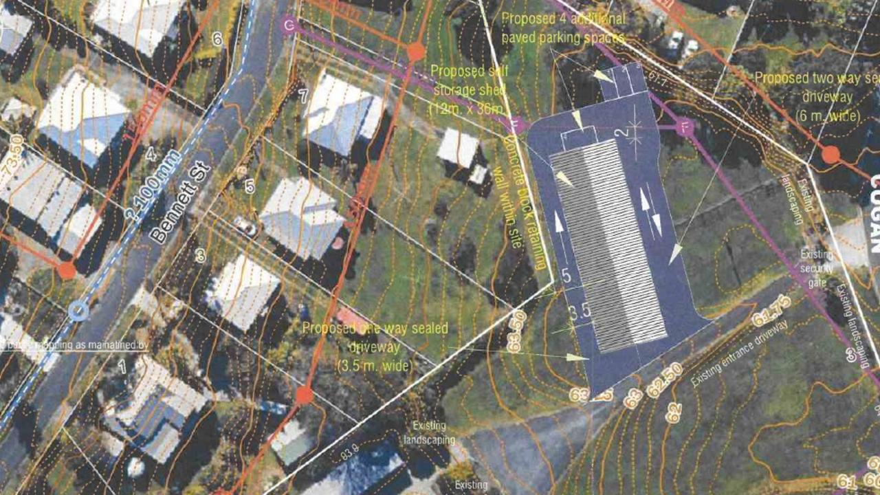 A Gympie self-storage business has plans to build its eighth storage shed.