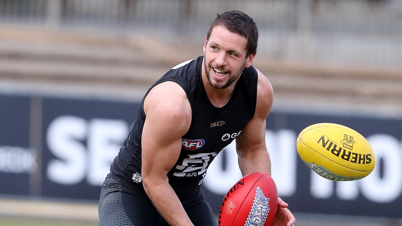 Travis Boak has produced career-best SuperCoach numbers in the past two years.