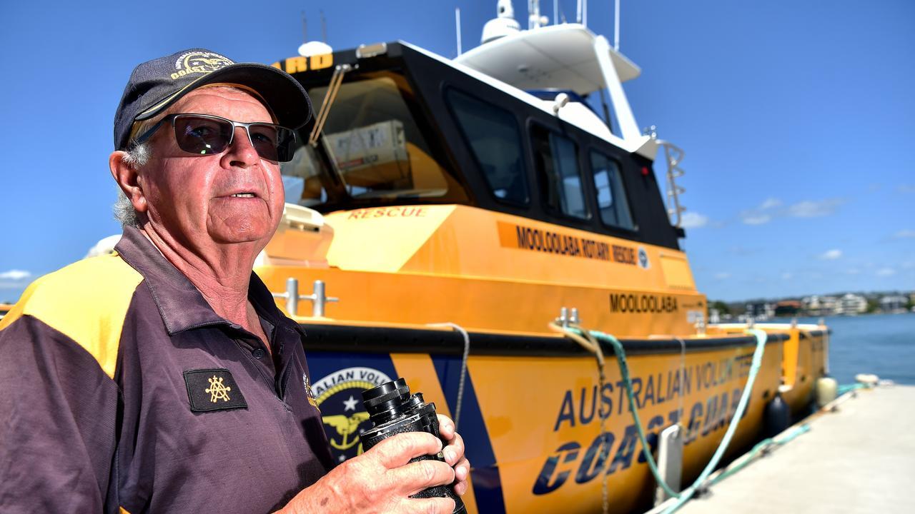 Deputy commander Rod Ashlin from Mooloolaba Coastguard says the organisation has struggled to meet its fundraising targets.