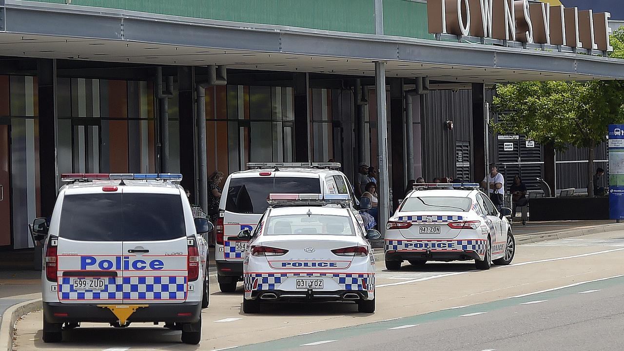 Stockland Townsville was evacuated after police responded to a bomb threat. PICTURE: MATT TAYLOR.