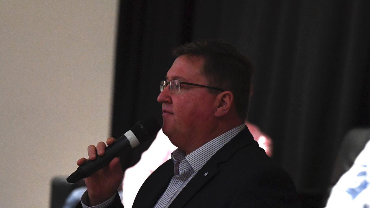 Wide Bay Director of Regional Development Scott Rowe