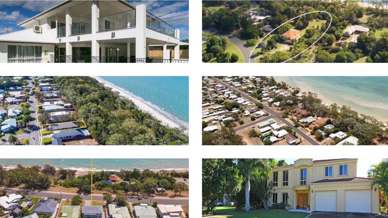 Beachfront houses for sale on the Fraser Coast.
