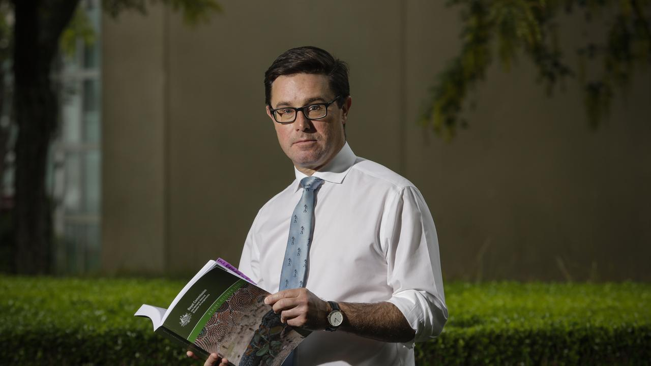 """David Littleproud, Minister for Agriculture, Drought and Emergency Management says a Royal COmmission is """"not required or warranted"""". Picture by Sean Davey."""