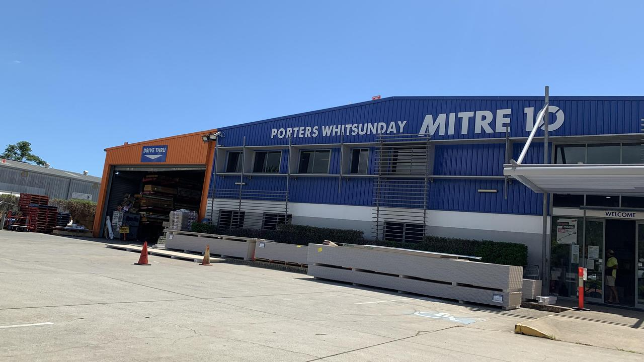 Porters Whitsunday Mitre 10 in Cannonvale. Picture: Elyse Wurm